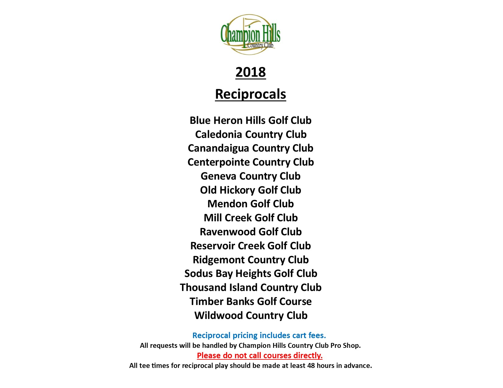 2018 Reciprocal Relationships CHCC